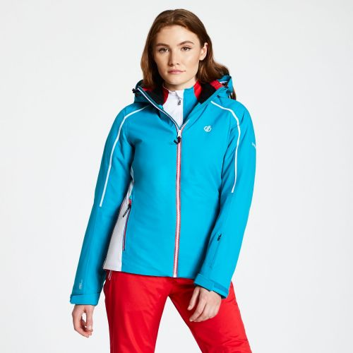 Women's Comity Ski Jacket Fresh Water Blue